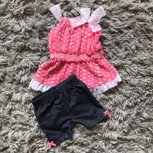 Little Lass | size 12 months | summer outfit